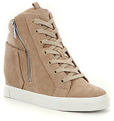 Gianni Bini Kalan Lace-Up Wedge Sneakers