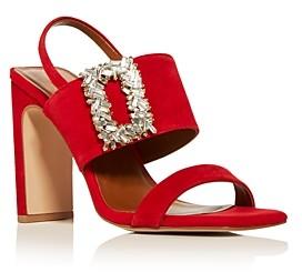 Kurt Geiger Women's Pascal Embellished High Block-Heel Sandals