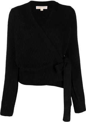 MICHAEL Michael Kors Tie-Side Knitted Cardigan