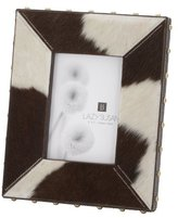 Lazy Susan Dimond Home 173034 Holstein Faux Pony Frame