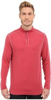 True Grit Lightweight Tencel 1/2 Zip Pullover