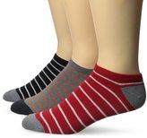 Ben Sherman Men's 3 Pack Manaslu Low Cut Socks