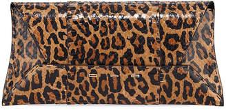 VBH Manila Stretch T Leopard Snake Clutch Bag