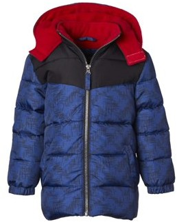 iXtreme Toddler Boy Contrast Colorblock Winter Jacket Coat