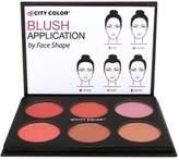 Color City (3 Pack) CITY COLOR Glow-Pro Blush Palette - Shimmer Collection