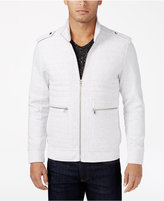 INC International Concepts Men's Frederic Ribbed and Quilted Jacket, Only at Macy's