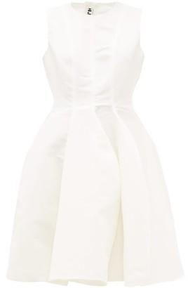 Maison Rabih Kayrouz Sleeveless Faille Mini Dress - Womens - Ivory