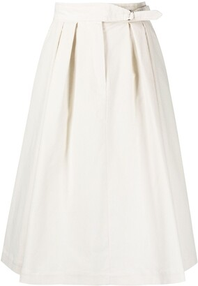 Paul Smith High-Waist Midi Skirt