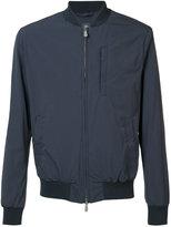 Eleventy zipped bomber jacket - men - Cotton/Polyamide/Cupro - S