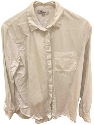 Madewell White Cotton Top for Women
