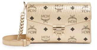 MCM Small Visetos Millie Cross-Body Bag