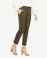 Ann Taylor The Ankle Pant In Double Cloth - Kate Fit