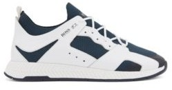 HUGO BOSS Leather Trimmed Sock Trainers