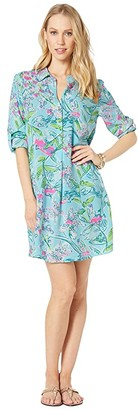 Lilly Pulitzer Lillith Tunic Dress (Bali Blue Sway This Way) Women's Dress
