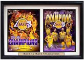 Los Angeles Lakers Champions Double Custom Frame