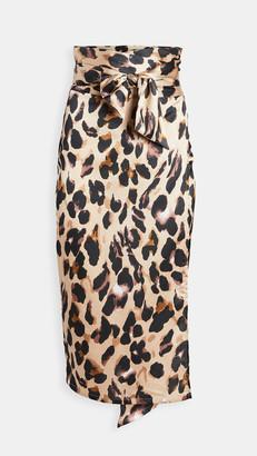 NEVER FULLY DRESSED Leopard Skirt