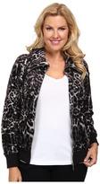 MICHAEL Michael Kors Size Long Sleeve Zip Front Jacket