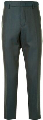 Pt01 Tailored Herringbone Trousers