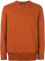 Fred Perry chunky hem sweatshirt - men - Cotton - 36