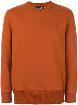 Fred Perry chunky hem sweatshirt