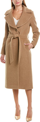 Cinzia Rocca Icons Alpaca & Wool-Blend Coat