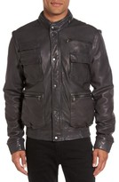 Vince Men's Lambskin Leather Bomber