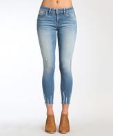 Mavi Jeans Light Shaded Glam Adriana Crop Jeans - Women