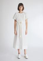 Lee Mathews Workroom Women's LM T-Shirt Dress in Natural, Size 00 | 100% Cotton