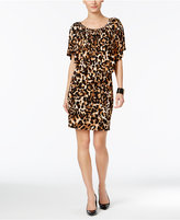 Thalia Sodi Convertible Animal-Print Popover Dress, Only at Macy's