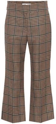 Veronica Beard Cormac cropped wool-blend pants