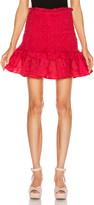 Alexis Nedusa Skirt in Red Azalea | FWRD