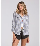 Billabong Junior's Sol Rider Plaid Flannel Shirt