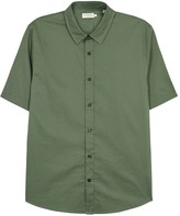Vince Green Cotton Shirt