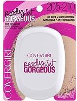 Cover Girl Ready, Set Gorgeous Pocket Powder Foundation, Light/Medium .37 oz (10.5 g)