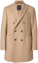 Fay double breasted coat - men - Viscose/Cashmere/Wool - M
