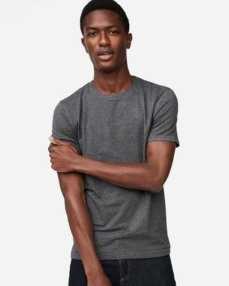 Express Slim Supersoft Heather Crew Neck T-Shirt