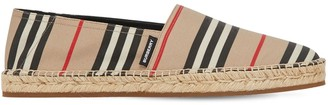 Burberry Check Tech Canvas Espadrilles