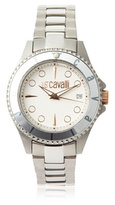 Just Cavalli Women's R7253141045 Abyss Silver/White Stainless Steel Watch