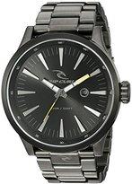 Rip Curl Men's A2860-DSH Recon XL Analog Display Analog Quartz Silver Watch