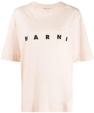Marni oversized logo T-shirt