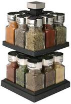 Olde Thompson Square Rotating 16-Jar Spice Rack