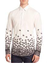 Versace Ombre Stars Button-Front Shirt