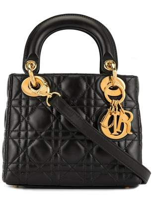 Christian Dior Pre-Owned mini Lady Cannage 2way bag