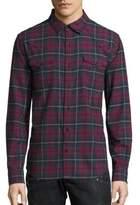 True Religion Ozone Western Plaid Shirt
