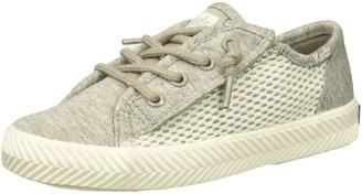 Keds Girls' Kickstart Seasonal Herringbone Jr Sneaker