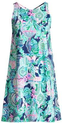 Lilly Pulitzer Kristen Printed Cotton Swing Dress
