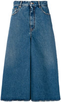 MM6 MAISON MARGIELA denim palazzo pants - women - Cotton - 38