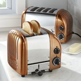 Crate & Barrel Dualit © Copper Toasters