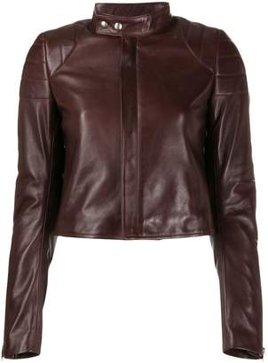 Bottega Veneta cropped biker jacket