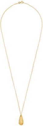 Dear Letterman Gold Damaat Pendant Necklace